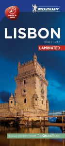 Michelin Laminated Citymap - Lisbon