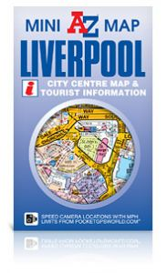 A-Z Mini Map - Liverpool