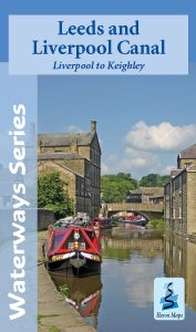 Heron Waterway Map - Leeds & Liverpool Canal - Liverpool To Keighley