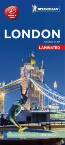 Michelin Laminated Citymap - London