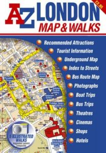 A-Z Map & Walks - London