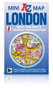 A-Z Mini Map - London West End