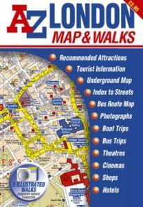 A-Z Map & Walks - London