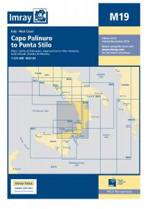 Imray M Chart - Capo Palinuro To Capo Stilo (M19)