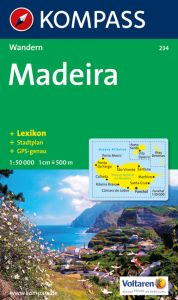 Kompass Maps - Madeira 234 GPS