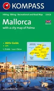 Kompass Maps - Mallorca Hiking & Biking 230GB GPS