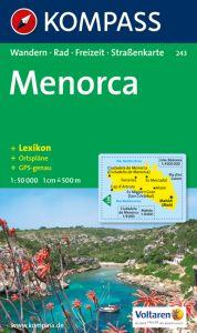 Kompass Maps - Menorca 243 GPS