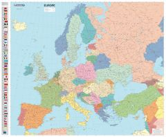 Michelin Europe Political Wall Map - Laminated