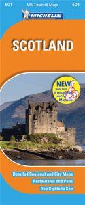 Michelin UK Tourist Map - 601-Scotland