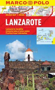 Lanzarote Marco Polo Holiday Map