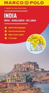 India Marco Polo Map