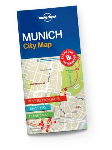 Lonely Planet - City Map - Munich