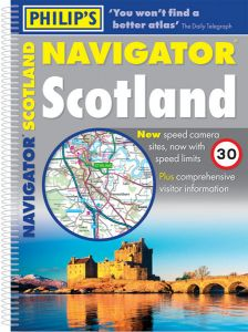 Philips Navigator Atlas - Scotland
