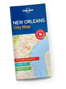 Lonely Planet - City Map - New Orleans