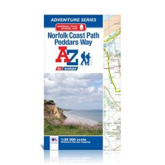 A-Z Adventure Atlas - Norfolk Coast Path / Peddars Way