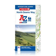 A-Z Adventure Atlas - North Downs Way
