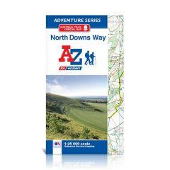 A-Z Adventure Atlas - North Downs Way