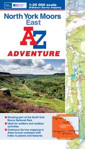 A-Z Adventure Atlas - North York Moors East