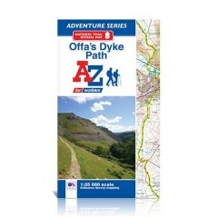 A-Z Adventure Atlas - Offa's Dyke Path