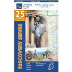 OS Discovery - 25 - Sligo (E), Leitrim, Roscommon