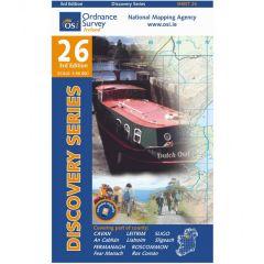 OS Discovery - 26 - Cavan, Fermanagh, Leitrim