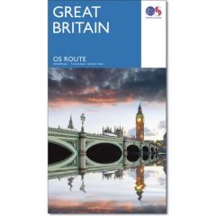 OS Route Map Of Great Britain