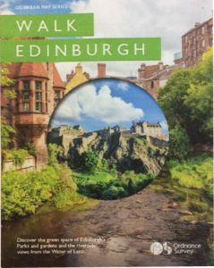 OS Urban Map Series - Walk Edinburgh