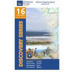 OS Discovery - 16 - Donegal, Fermanagh, Leitrim, Sligo