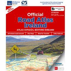 OS Official Road Atlas Ireland