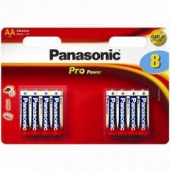 Panasonic - Pro Batteries - AA - Box Of 12 (4+4) (9)