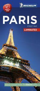 Michelin Laminated Citymap - Paris
