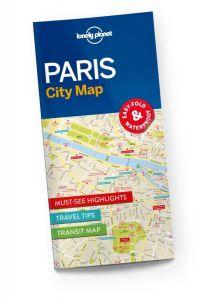 Lonely Planet - City Map - Paris
