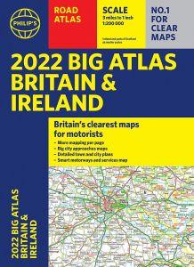 Philips Big Road Atlas Britain & Ireland - A3 Spiral