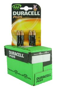 Duracell Plus Power Batteries - AAA - Box Of 10 Packets (11)