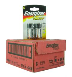 Energizer Max Batteries - C - Box Of 12 Packets