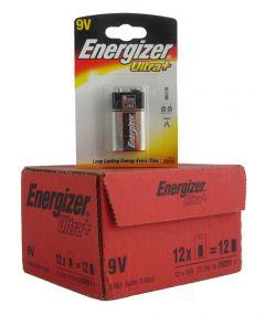 Energizer Max Batteries - 9V - Box Of 12 Packets (30)