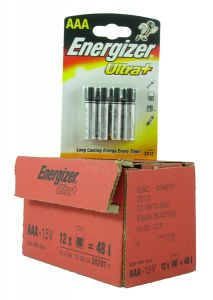 Energizer Max Batteries - AAA - Box Of 12 Packets (26)