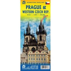 ITMB - World Maps - Prague & Western Czech Republic