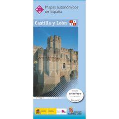 CNIG Spanish Autonomous Region Series Map - Castilla y Leon