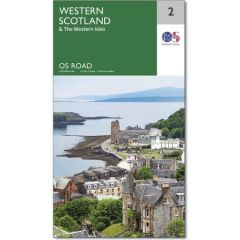 OS Road Map - 2 - Western Scotland & The Western Isles