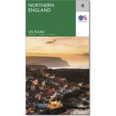 OS Road Map - 4 - Northern England