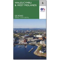 OS Road Map - 6 - Wales & West Midlands