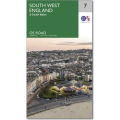 OS Road Map - 7 - South West England
