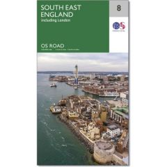 OS Road Map - 8 - South East England