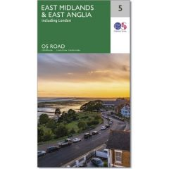 OS Road Map - 5 - East Midlands & East Anglia