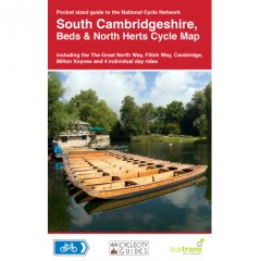 Sustrans Nat. Cycle Network - S Cambs, Beds & Herts Cycle Map (17)