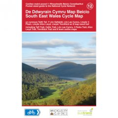 Sustrans National Cycle Map - South East Wales Cycle Map (12)