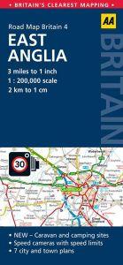 AA - Road Map Britain - East Anglia