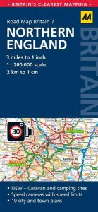 AA - Road Map Britain - Northern England