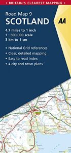 AA - Road Map Britain - Scotland